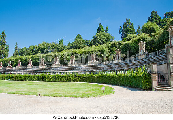 Boboli gardens in florence italy stock image - Search Photos and ...