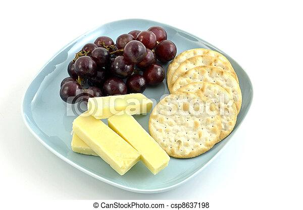 Un bocadillo saludable - csp8637198