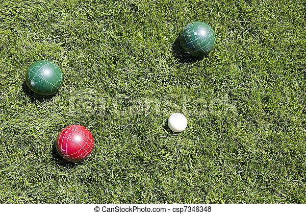 Bocce ball - csp7346348