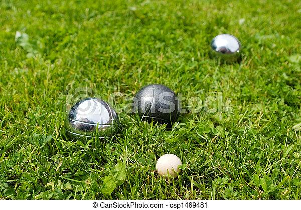 Bocce Balls - csp1469481