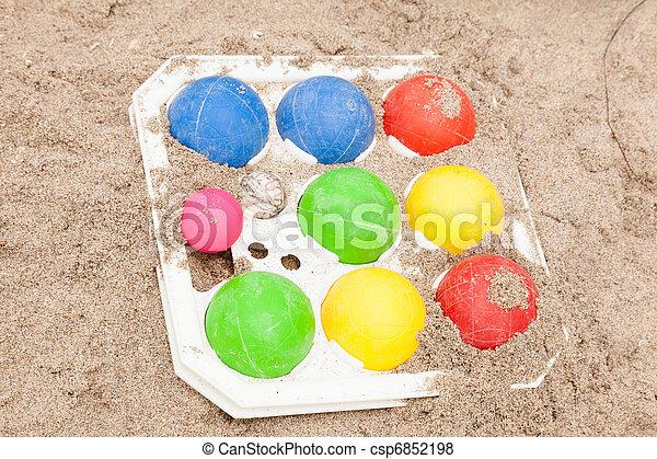 Bocce balls - csp6852198