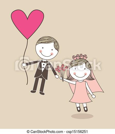Diseño de bodas - csp15156251