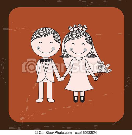 Diseño de bodas - csp16038624