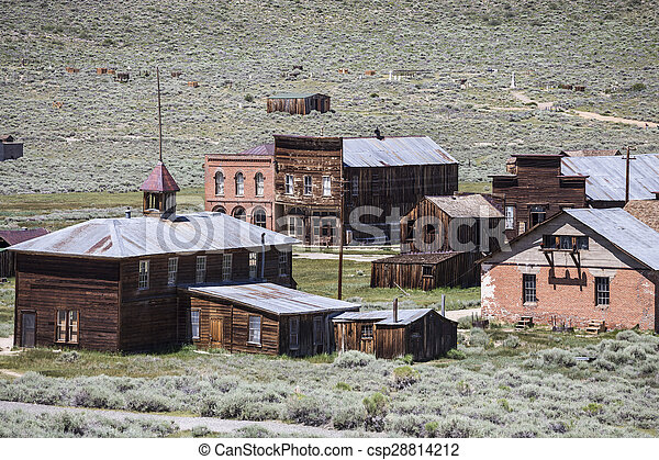 Bodie Ghost Town - csp28814212