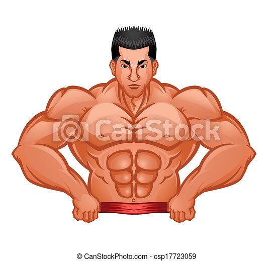 Body Builder Symbol - csp17723059
