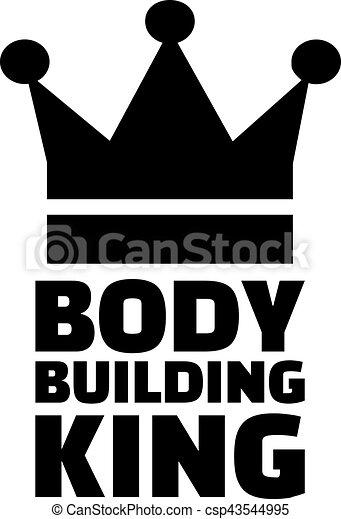 Body Building King - csp43544995