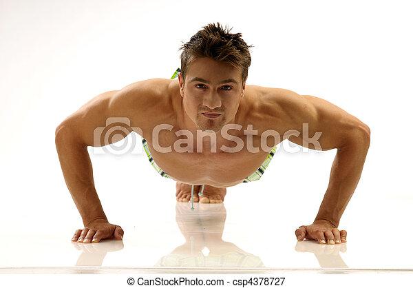 Body-building - csp4378727