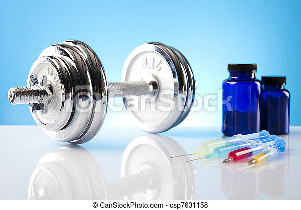 Body building, supplements - csp7631158