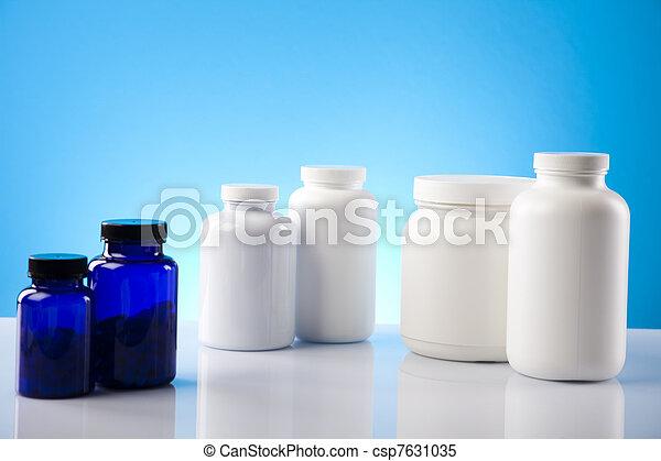 Body building, supplements  - csp7631035