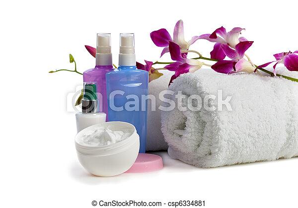 body care items  with jasmine - csp6334881