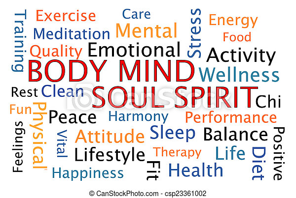 Body Mind Soul Spirit - csp23361002