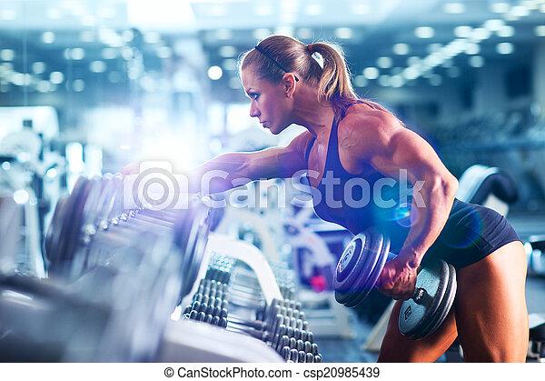 Bodybuilderinnen - csp20985439