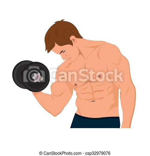 bodybuilder - csp32979076