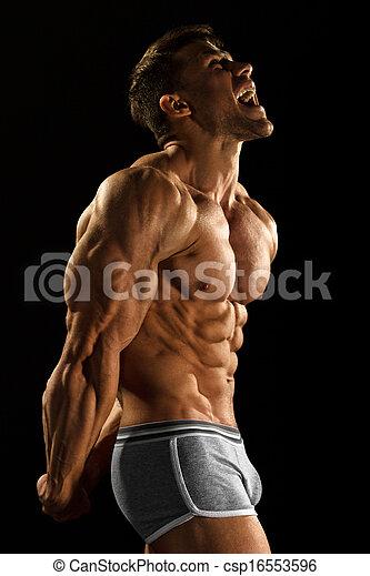 bodybuilder - csp16553596