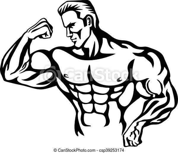 Bodybuilder T Shirt Design