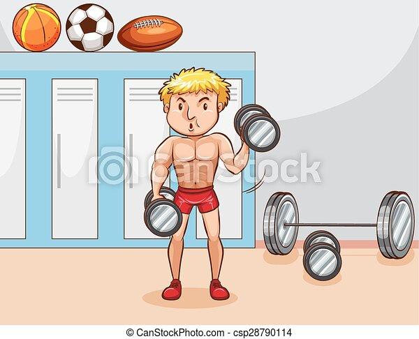 Bodybuilder - csp28790114