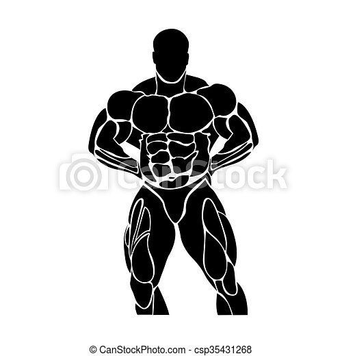 Bodybuilding and powerlifting  - csp35431268