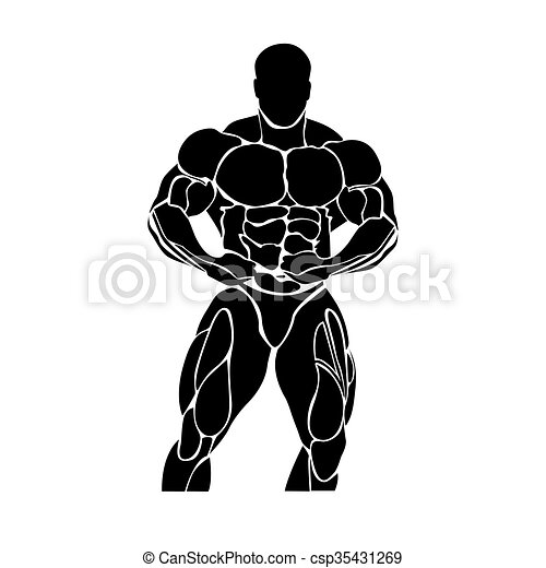 Bodybuilding and powerlifting  - csp35431269