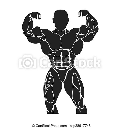 Bodybuilding and powerlifting - csp38617745