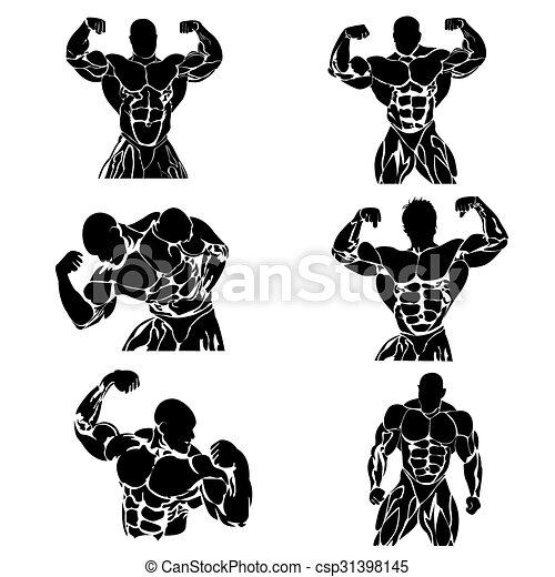 Bodybuilding - csp31398145