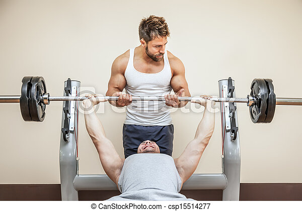 bodybuilding man - csp15514277