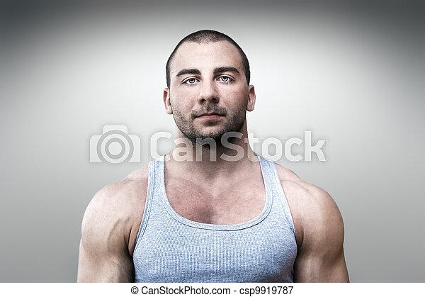 bodybuilding man - csp9919787