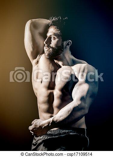 bodybuilding, man - csp17109514