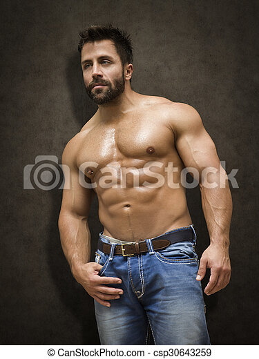 bodybuilding man - csp30643259