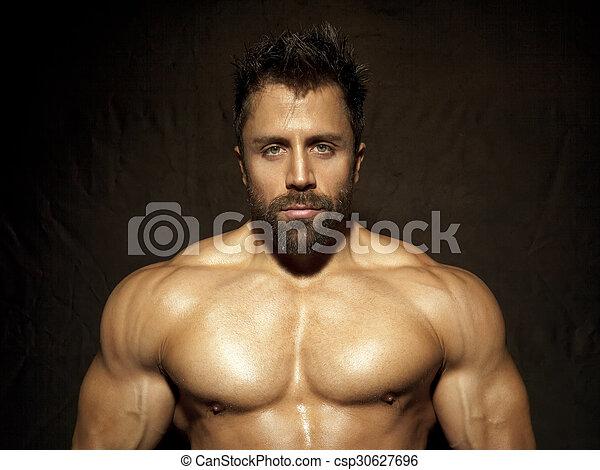 bodybuilding man - csp30627696