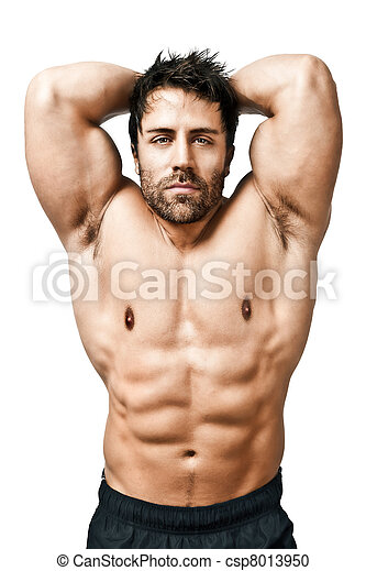 bodybuilding man - csp8013950