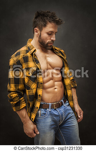 bodybuilding man - csp31231330