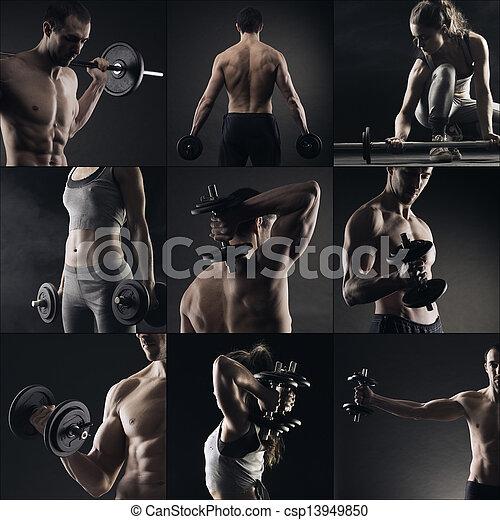 Bodybuilding - csp13949850