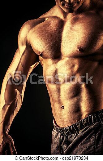 bodybuilding - csp21970234