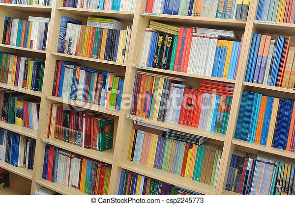 boek, bibliotheek - csp2245773