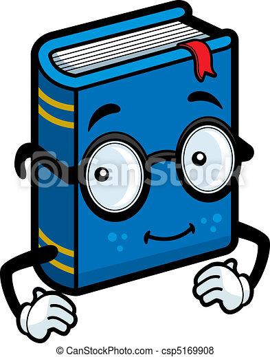 boek, bril - csp5169908
