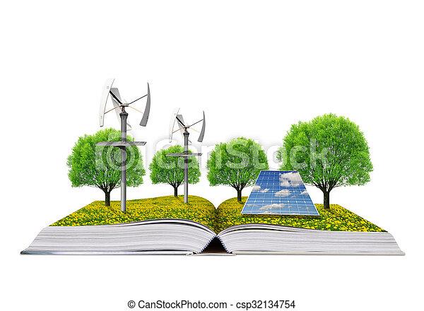 boek, ecologisch - csp32134754