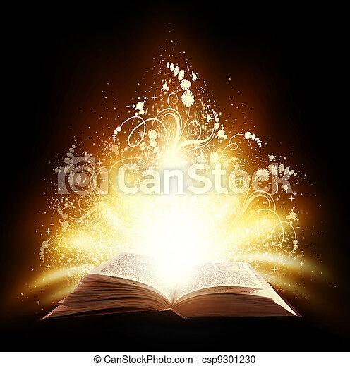 boek, magisch - csp9301230