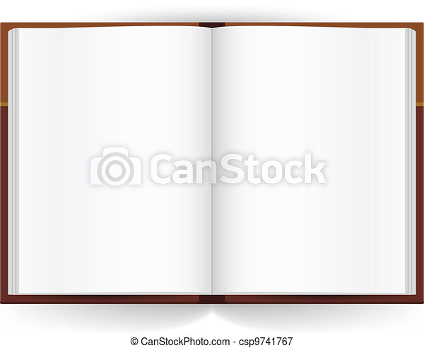 boek, open - csp9741767
