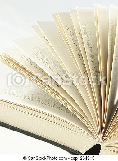 boek, pagina's - csp1264315