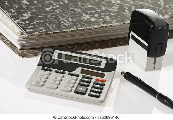 boekhouding, gereedschap - csp2696146