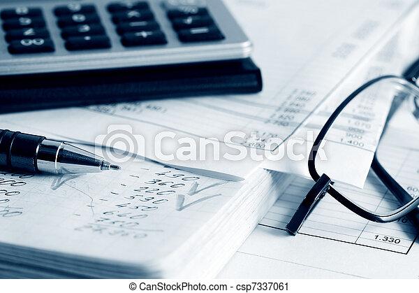 boekhouding - csp7337061