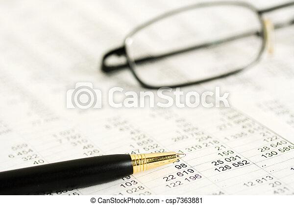 boekhouding - csp7363881