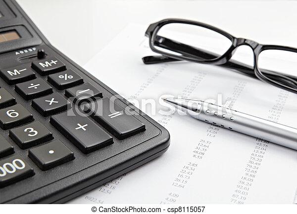 boekhouding - csp8115057