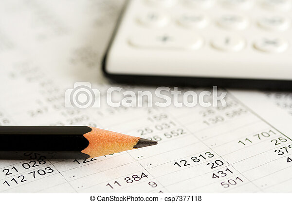 boekhouding - csp7377118