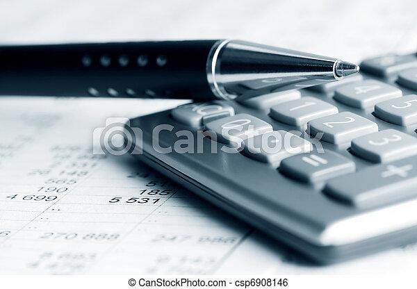 boekhouding - csp6908146