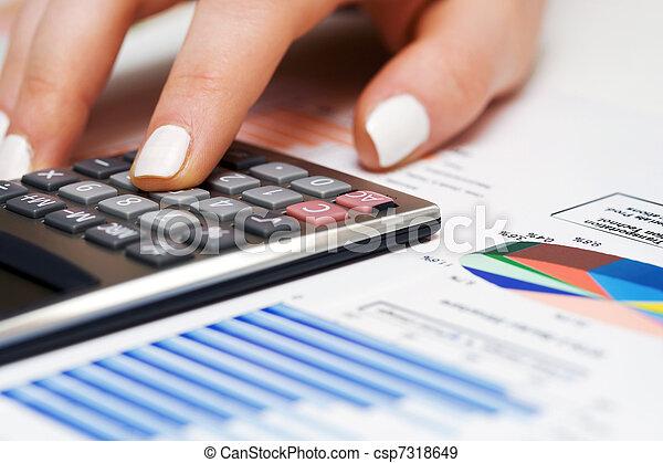 boekhouding - csp7318649