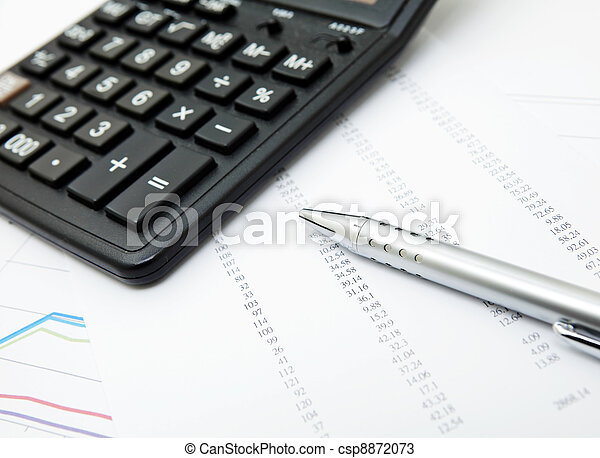 boekhouding - csp8872073