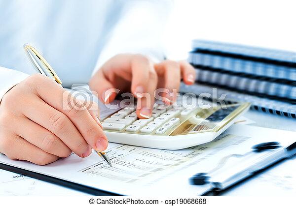 boekhouding, zakelijk - csp19068668