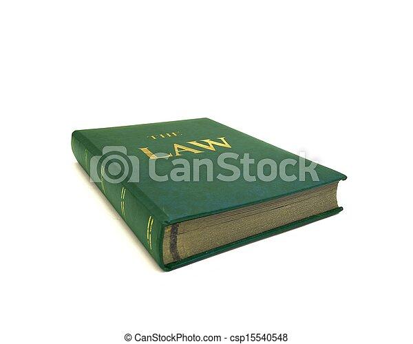 boekjes , wet - csp15540548