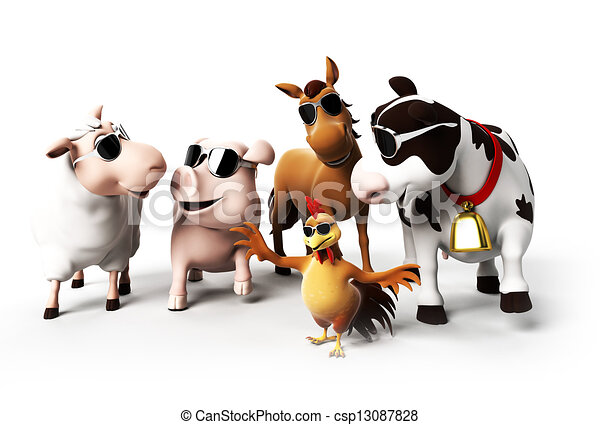 boerderijdieren - csp13087828